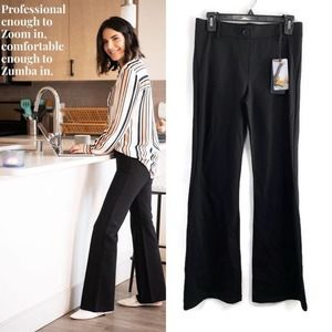 NWT Betabrand Boot Cut Classic Yoga Dress Pant SP